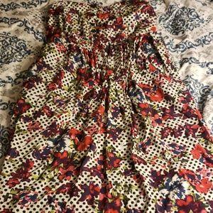 Torrid Strapless Dress